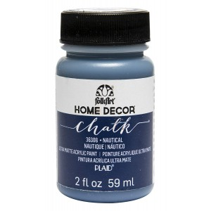 FolkArt Home Decor Chalk Paint - Nautical - 2 oz