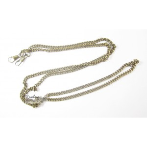 Metal Charm - Bronze Chain W/Clasp - 36 inches - 1/Pkg