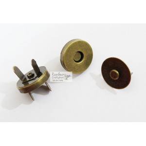 Bronze Magnet Lock - 2 Sets