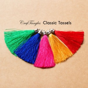 CrafTangles - Classic Tassels (Pack of 5)