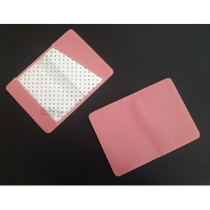 Faux Leather - Passport Sleeves - Pink Brick - 13.5cm x 19cm - 1/Pkg