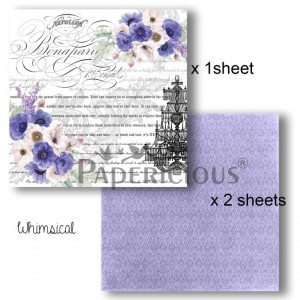 Papericious - Decoupage Papers - Whimsical - 6x6 inch