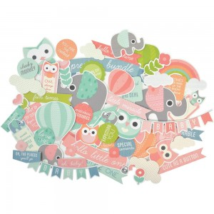 KaiserCraft - Little One Collectables Cardstock Die-Cuts