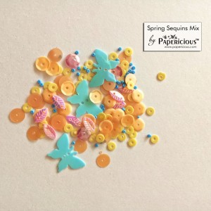 Papericious Sequins Mixes - Spring - 10g