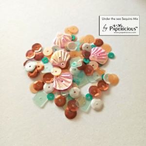 Papericious Sequins Mixes - Under the sea - 10g