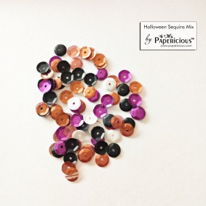 Papericious Sequins Mixes - Halloween - 10g