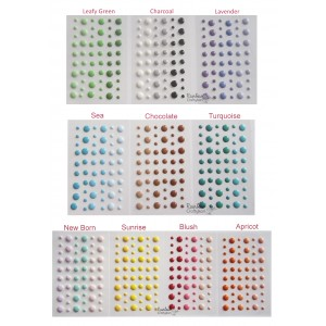 Enamel Dots - Glossy - Assorted Colors