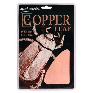 Mont Marte - Imitation Leaf 14x14cm - Copper