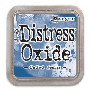 Ranger Ink - Tim Holtz - Distress Oxides Ink Pads - Faded Jeans