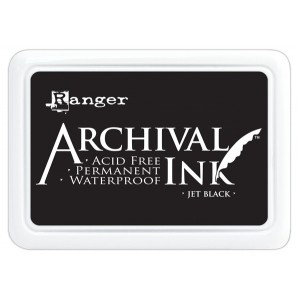 Ranger - Archival Ink Inkpad - Black