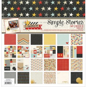 "Simple Stories - Double-Sided Paper Pack - Say Cheese II - 12""X12"" 12/Pkg"