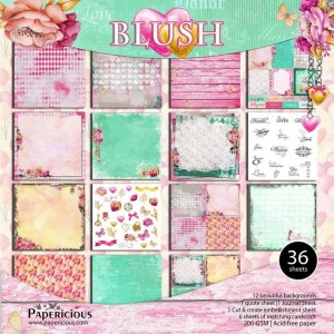 Papericious 12x12 Paper Pack - Premium Collection - Blush