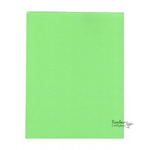 Cardstock - 8.5x11in - Light Green - 200gsm - 5/Pkg