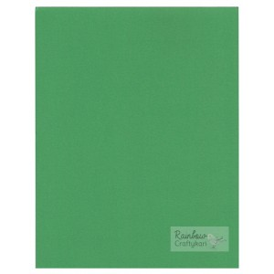 Cardstock - 8.5x11in - Dark Leaf Green - 200gsm - 5/Pkg