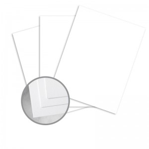 Neenah Classic Crest Avalanche White Card Stock - 8-1/2 x 11 in - 100lb Cover (270GSM) - 5/Pkg