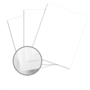 Neenah Classic Crest - Smooth Solar White Card Stock - 8-1/2 x 11 in - 80Lb - 5/Pkg