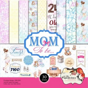 Papericious 12x12 Paper Pack - Mom To Be