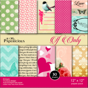 Papericious 12x12 Paper Pack - If Only