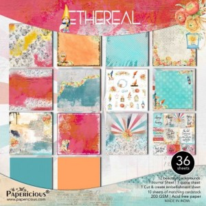 Papericious 12x12 Paper Pack - Premium Collection - Ethereal