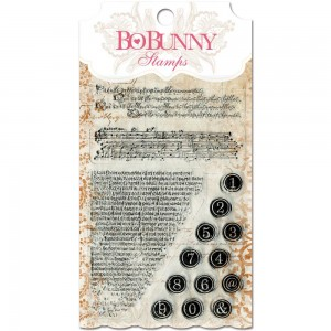 """BoBunny Stamps 4""""X6"""" - It Is Written"""