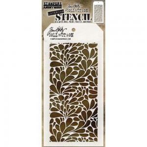 Tim Holtz - Stampers Anonymous - Layering Stencil - Splash