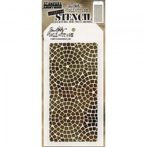 Tim Holtz - Stampers Anonymous - Layering Stencil - Mosaic