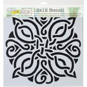 Crafter's Workshop Template 12″X12″ – Celtic Knot