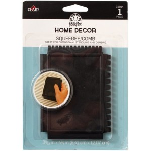 FolkArt Home Decor - Squeegee comb
