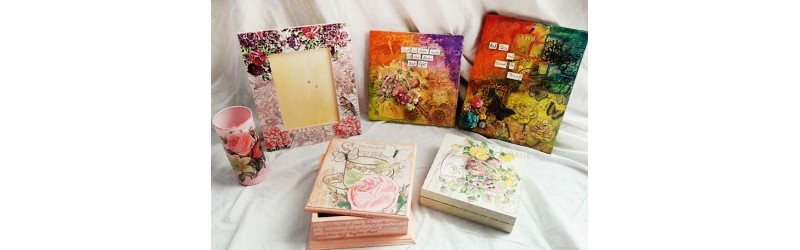 Decoupage Workshop 17th & 18th Jun' 16